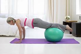 Pilates on a Stability Ball